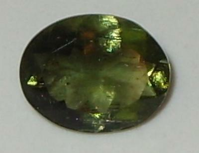 1.39ct Faceted Natural Czechoslovakia Moldavite Oval Cut SPECIAL