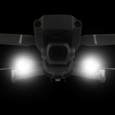 For DJI Mavic 2 Zoom Pro Dual LED Front Light Headlamp Night Fly Accessories