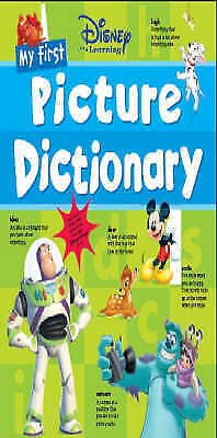 Bates, My First Picture Dictionary (Disney Learning), Very Good Book