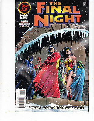 * Dc comics the final night #1
