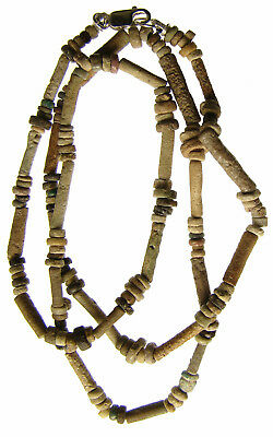 Egyptian Mummy Bead 20-Inch NICE Restrung circa 600-300 BC or Earlier