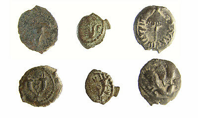 Herod I, Son Archelaus, and Grandson Agrippa I, LOT of 3 coins, Biblical/Judean