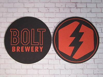 Beer Brewery Coaster ~ BOLT Brewing Co ~ Little Italy, San Diego, CALIFORNIA