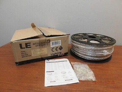 Lighting Ever LE 164 FT 50 Meter 4100063-RED-US RED LED Light Strip New In Box