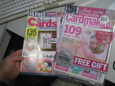 2 new issues Cardmaking & Papercrafts and Making Cards