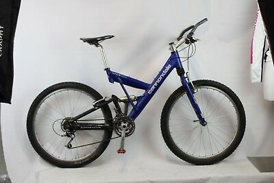 9c6035ae32e VINTAGE CANNONDALE SUPER V 1000 MOUNTAIN BIKE Medium RETAIL $2500 ...