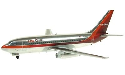 Inflight IF7321113P USAir Boeing 737-200 N326AU Diecast 1/200 Jet Model Airplane