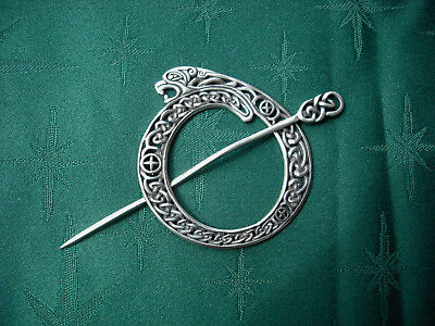 JUL Designs Celtic Lioness Shawl Pin
