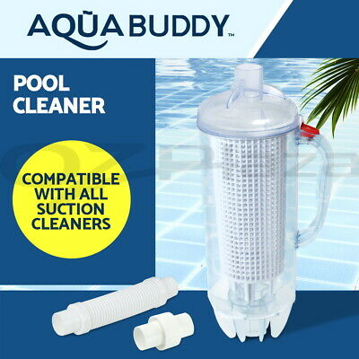 Leaf Catcher Canister Suction Vacuum Above Ground Swimming Pool Cleaner