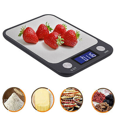 LCD Digital Electronic Balance Scale 0.01-500g Food Weight Postal Scales Kitchen