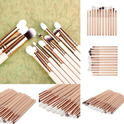 12pcs Soft Eyeshadow Makeup Brushes Set Pro Eye Shadow Blending Make Up Brushes