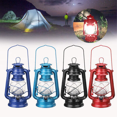 Hurricane 15 LED Camping Glamping With Dimmer Lantern Light Lamp Battery Light