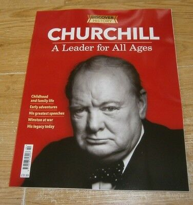 Discover History magazine Churchill A Leader of All Ages