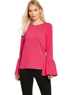 V by Very Fluted Sleeve Top