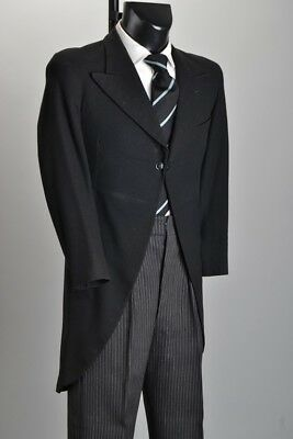 Magnificent 1920s' Sheffield Tailored Morning Dress Wedding Tails & Trousers ILB