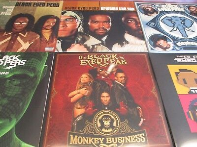 Black Eyed Peas Limited Edition Double Lp Sets 6 Titles With 12 Sides Of Vinyl