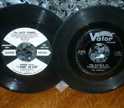 """< SALE! 2 GAS CHAMBER DEATH 45s: """"BALLAD OF BARBARA GRAHAM"""" +""""I WANT TO LIVE"""""""