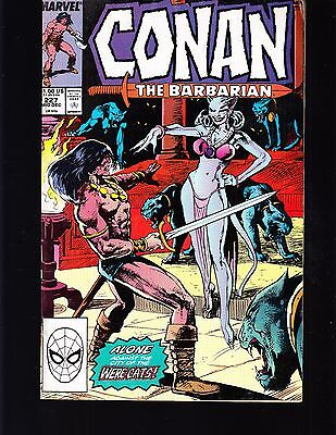 Conan -The Barbarian #227 1989 Fn+ Marvel -Were Cats-  Gene Conway/ Defalco