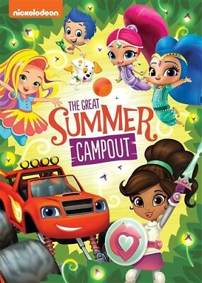 NICKELODEON FAVORITES THE GREAT SUMMER CAMPOUT New Sealed DVD