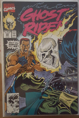 GHOST RIDER (2ND) # 20, to # 23, (MARVEL COMICS / VFN / VFN- / 1991 / 1992)