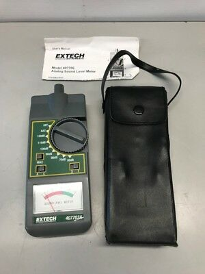 Extech 407703A Analog Sound Level Meter 60-120Db (Gce032837)