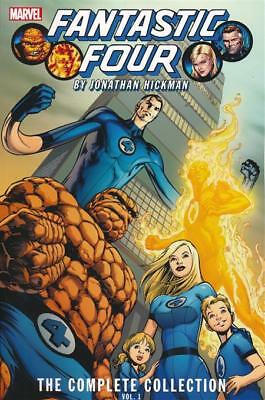 Fantastic Four By Hickman Complete Collection TP Vol 01 Softcover Graphic Novel