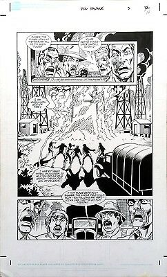 Original Art Page (Doc Savage: Curse of the Fire God #3, pg#14) (DS#0257)