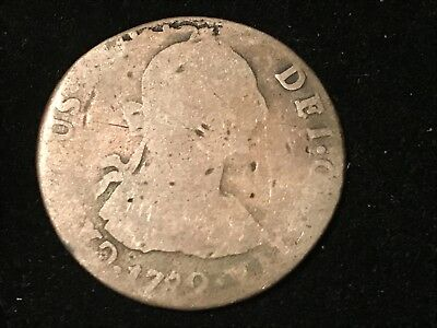 T2: World Coin Bolivia 1782 PR 2 Reales. Free Shipping in U.S.