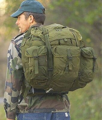 U.s.g.i. Military A.l.i.c.e. Pack Backpack With Frame, Large, Od Green (Used)