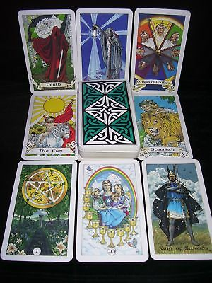 Sealed & Brand New! Robin Wood Tarot Card Deck Oracle Easy To Understand