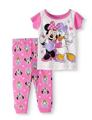 eced32c37 Disney Minnie Mouse Daisy Duck Baby Pajamas Size 9 12 18 24 Months New!
