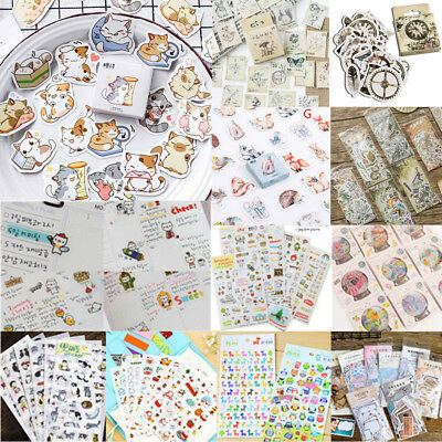 DIY Calendar Scrapbook Album Diary Book Decor Paper Planner Sticker Craft JP