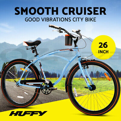 "da0ddccac Huffy 26"" 66cm Mountain Bike Men s Women s Unisex Bicycle 15-Speed City Road"