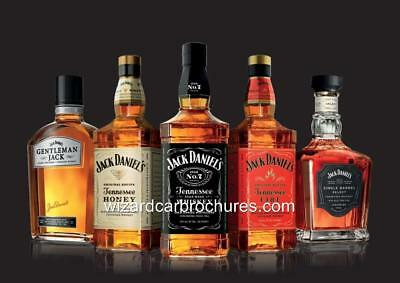 Bar Club Pub customised business Jack Daniels Whiskey poster A2 A0 sizes A1