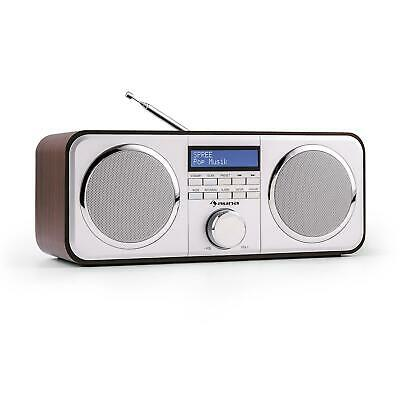 Radio Digitale AUX Radiosveglia DAB DAB+ AM FM Stereo Streaming Legno