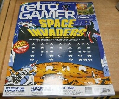 Retro Gamer magazine #185 2018 Space Invaders 40th Anniversary Special + Raiden