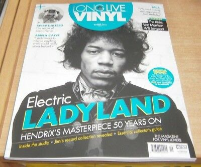 Long Live Vinyl magazine #19 Oct 2018 Jimi Hendrix Electric Ladyland 50 Years on