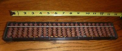 Vintage Japanese Soroban Abacus  ~ 23 Rods ~ 4/1 beads ~ Amazing condition