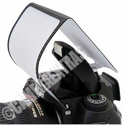 Soft Screen Pop Up Flash Diffuser for DSLR Camera Canon Nikon Sony Pentax UK