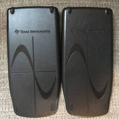 Texas Instruments TI-83 Plus TI-86 TI-89 Front Slide Covers ONLY Lot of 2
