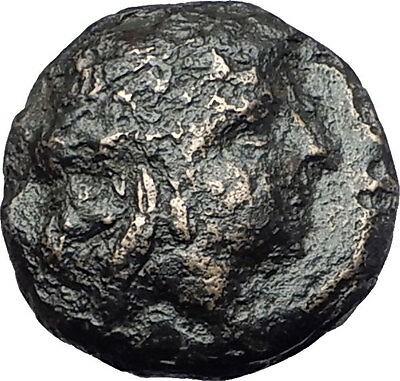 ODESSOS in THRACE 281BC Authentic Ancient Greek Coin w YOUTH & GREAT GOD i61709