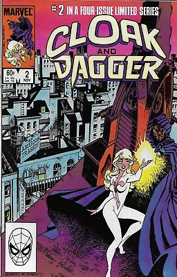 Cloak And Dagger Comic Issue 2 Bronze Age Limited Series First Print Mantlo 1983