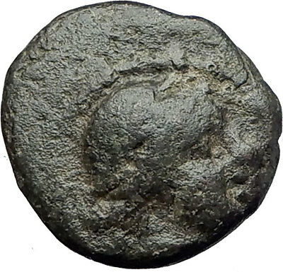 Thessalonica in Macedonia 148BC Ancient Greek Coin ARTEMIS w BOW & QUIVER i62246