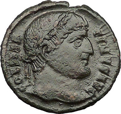 Constantine I the Great 324AD  Ancient Roman Coin Military camp gate  i31543