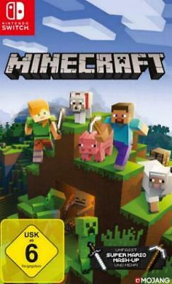 Nintendo Switch MINECRAFT Deutsch OVP NEU