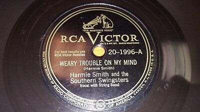 HARMIE SMITH Weary Trouble On My Mind/ Tomorrow 78 RCA Victor 20-1996 OZARK