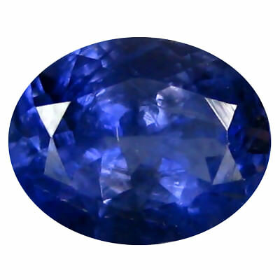 1.54 ct AAA Spectacular Oval Shape (9 x 7 mm) Iolite Natural Loose Gemstone