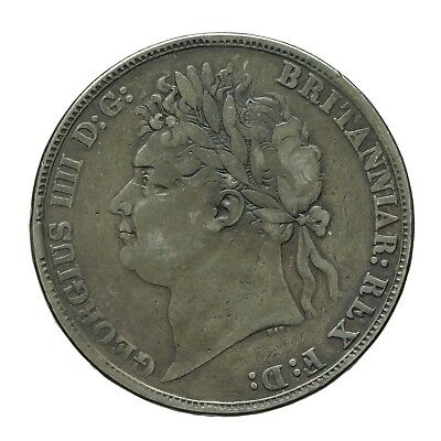 George IV Silver Crown 1821 Secundo  S 3805