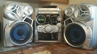 Panasonic SA-AK320. 5CD CHANGER. Excellent Working Condition. Superb Sound.