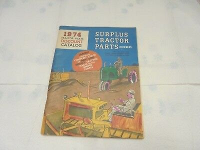 1974 tractor parts discount catalog surplus tractor parts fargo north dakota